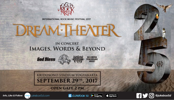 Nonton Bareng Dream Theater di JogjaROCKarta International Rock Music Festival 2017
